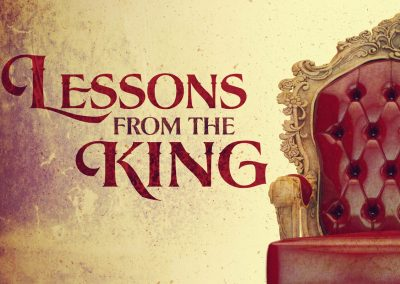 Lessons From The King